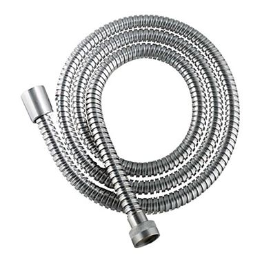 Inox Brushed Stainless Steel Shower Hose - 1500mm