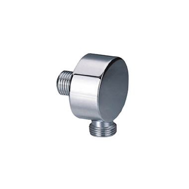 Inox Brushed Stainless Steel Luxury Shower Outlet Elbow