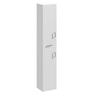 Vellamo Alpine 1900mm Freestanding Tall Storage Unit - 300mm Deep
