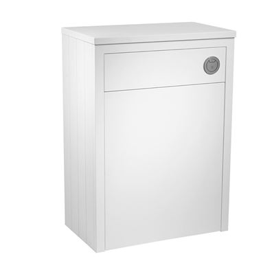 Tavistock Lansdown 600m Back to Wall Toilet Unit - Linen White