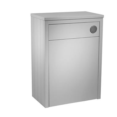 Tavistock Lansdown 600m Back to Wall Toilet Unit - Pebble Grey