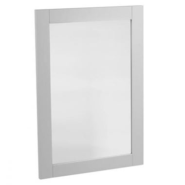 Tavistock Lansdown Wooden Framed Mirror - Pebble Grey - 570 x 800mm