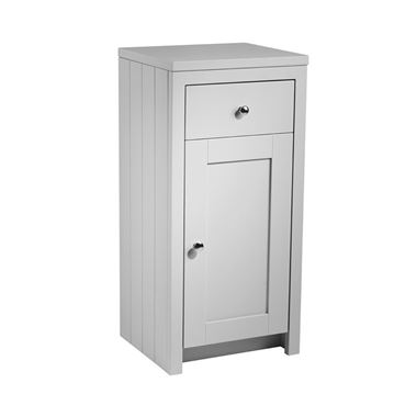 Tavistock Lansdown 400mm Floorstanding Storage Unit - Pebble Grey
