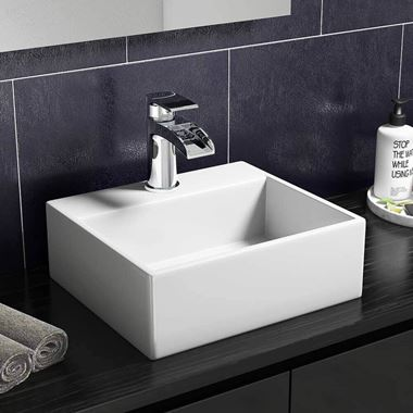Lexie 335mm Countertop / Wall-Mounted Cloakroom Basin