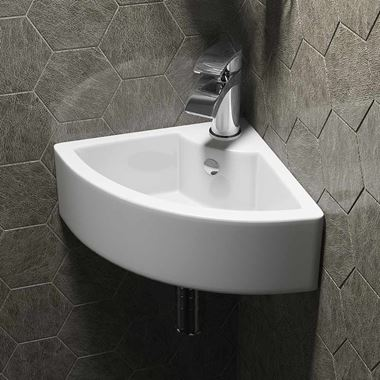 Lexie 455mm Corner Cloakroom Basin