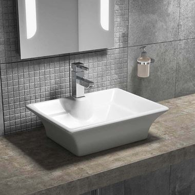 Lexie 490mm Rectangular Countertop Basin