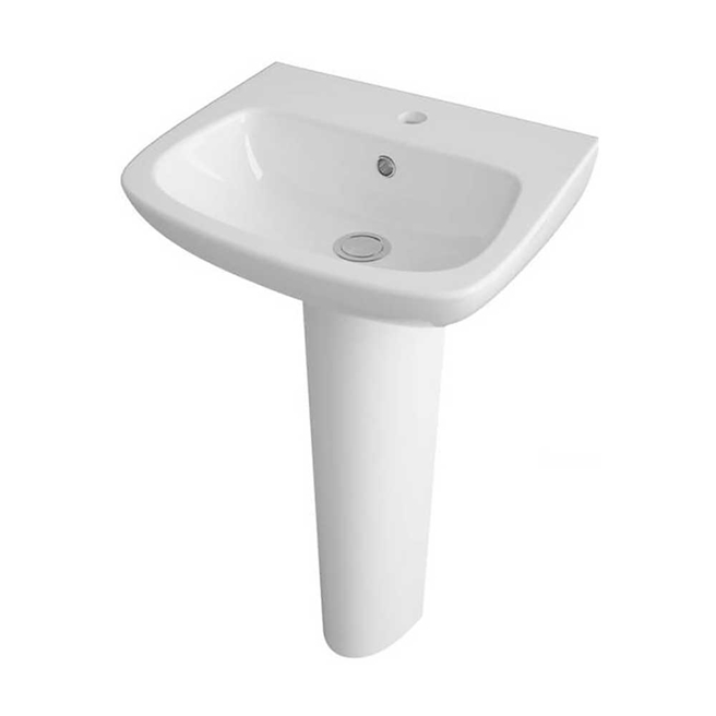 Lola 450mm Full Pedestal & Basin