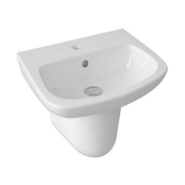 Lola 450mm Semi Pedestal & Basin