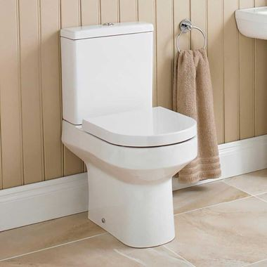Lorraine Close Coupled Toilet with Soft Close Seat