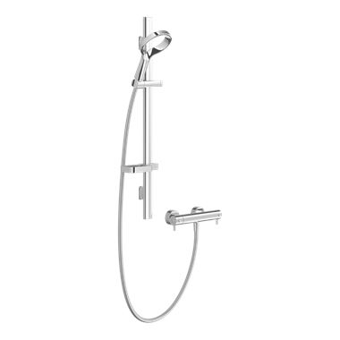 Methven Aurajet Aio Cool to Touch Thermostatic Bar Mixer Shower Kit