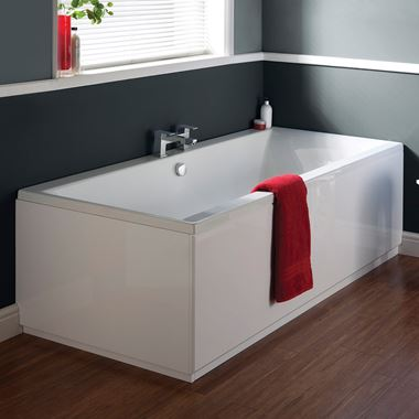 Noah Curve Double Ended Bath - 1700 x 700mm & 1700 x 750mm & 1800 x 800mm