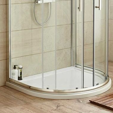Harbour Primrose 1050x925 D Shaped Shower Tray