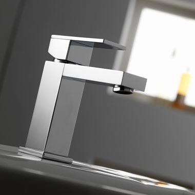 Pura Bloque Basin Mixer Tap with Waste
