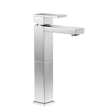 Pura Bloque Tall Basin Mixer Tap with Waste