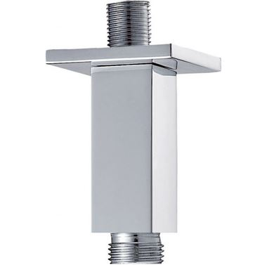 Pura Design 75mm Square Ceiling Mounted Shower Arm