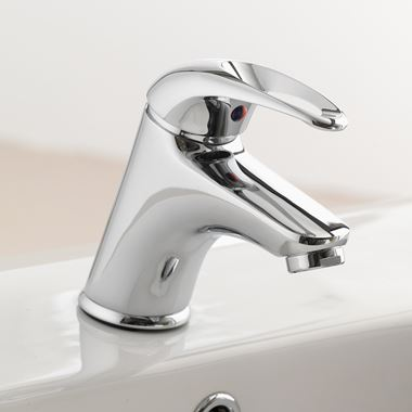 Pura DV8 Basin Mixer Tap with Waste