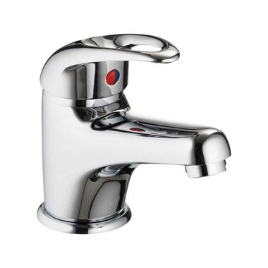 Pura DV8 Eco Basin Mixer Tap with Waste