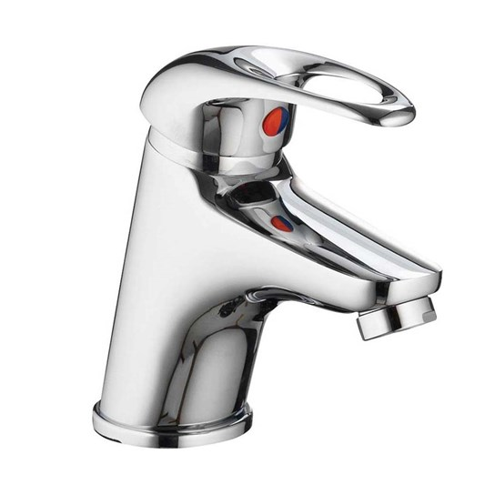 Pura DV8 Mini Basin Mixer Tap with Waste