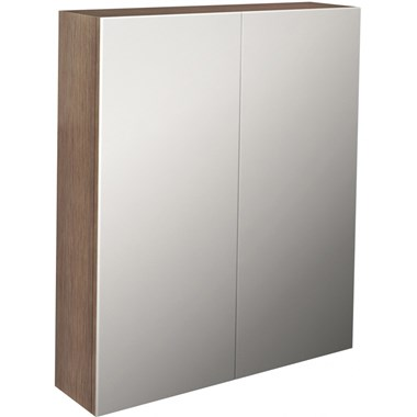 Pura Echo Double Door Mirrored Cabinet - 600 x 700mm
