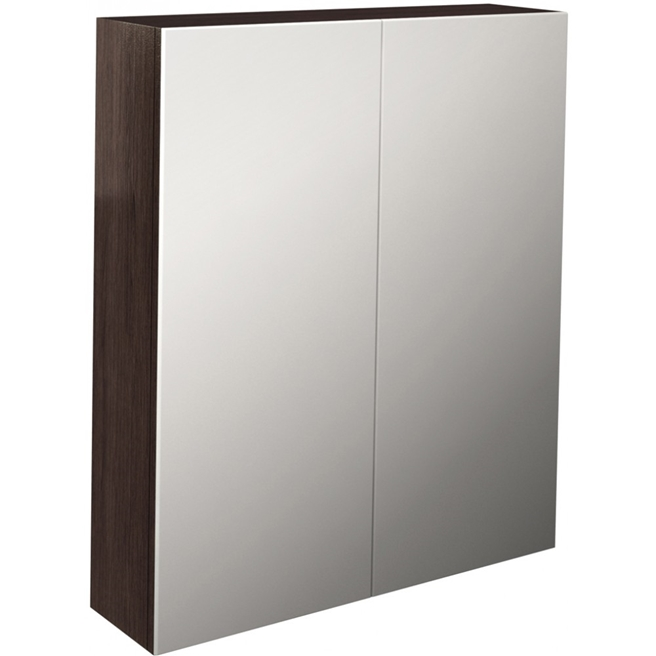 Pura Echo Double Door Mirrored Cabinet - 800 x 700mm