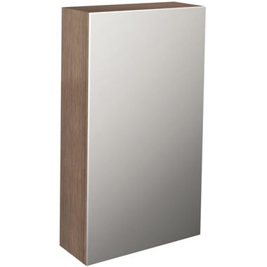 Pura Echo Single Door Mirrored Cabinet - 400 x 700mm