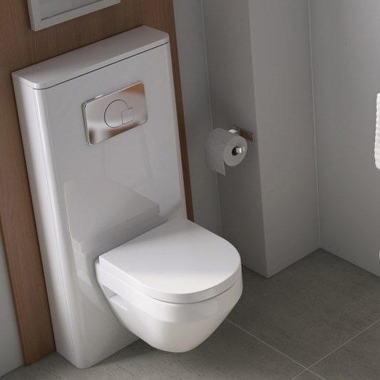 Pura Flite 550mm Back to Wall Toilet Unit