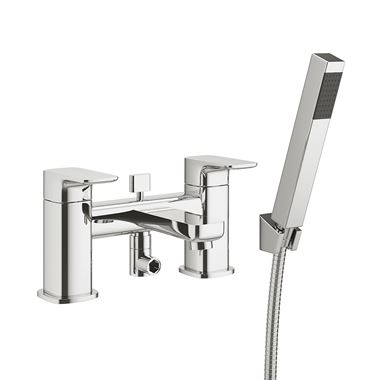 Pura Flite Bath Shower Mixer Tap with Shower Kit