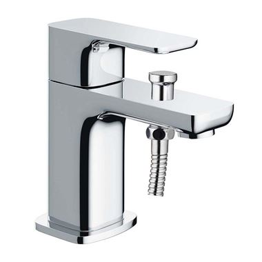 Pura Flite Monobloc Bath Shower Tap with Shower Kit