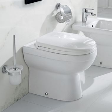 Pura Ivo Back to Wall Toilet & Seat - 500mm Projection