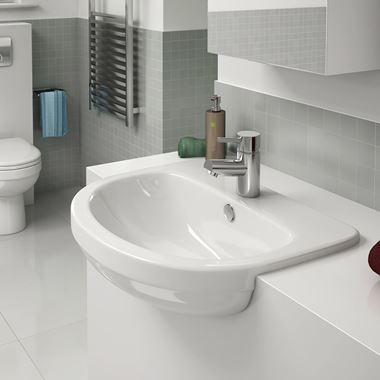 Pura Ivo Semi Countertop Basin