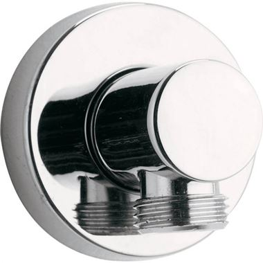 Pura Round Wall Elbow Outlet