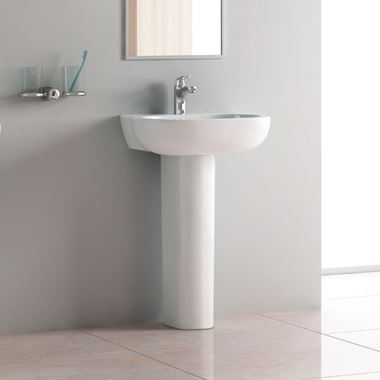 Pura Urban Pedestal Basin - 560mm & 450mm