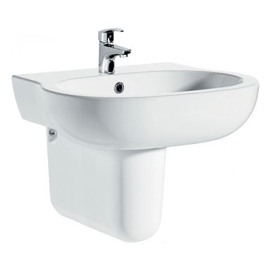 Pura Urban Semi Pedestal Basin - 560mm & 450mm