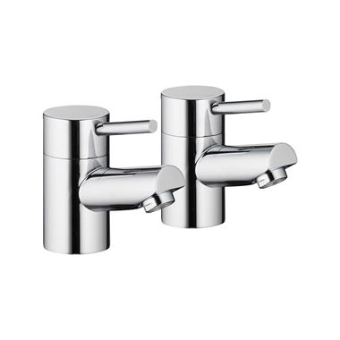 Pura Xcite Bath Pillar Taps - Pair