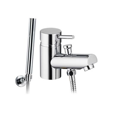 Pura Xcite Monobloc Bath Shower Mixer Tap with Shower Kit