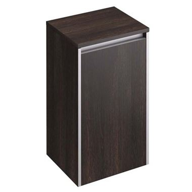 Pura Xcite Wall Mounted Side Storage Unit - Dark Oak