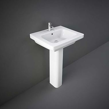 RAK Resort Basin & Full Pedestal - 650mm