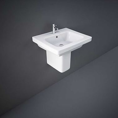 RAK Resort Basin & Semi Pedestal - 500, 550 & 650mm