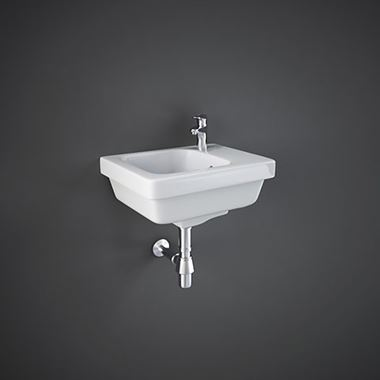 RAK Resort Wall Hung Cloakroom Basin - 360mm