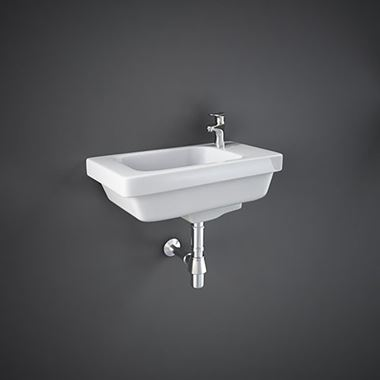 RAK Resort Wall Hung Cloakroom Basin - 450mm