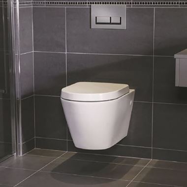 RAK Resort Rimless Toilet & Soft Close Seat - 520mm Projection
