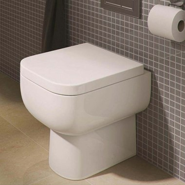 RAK Series 600 Back to Wall Toilet & Soft Close Seat - 500mm Projection
