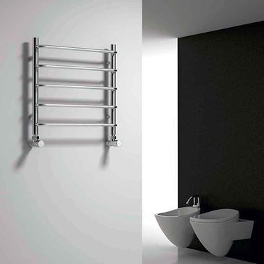 Reina Aliano Designer Steel Bathroom Heated Towel Rail Radiator - 500x500
