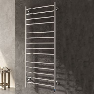 Reina Arnage Polished Stainless Steel Dry Electric Towel Warmer