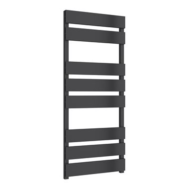 Reina Fermo Anthracite Aluminium Heated Ladder Towel Radiator
