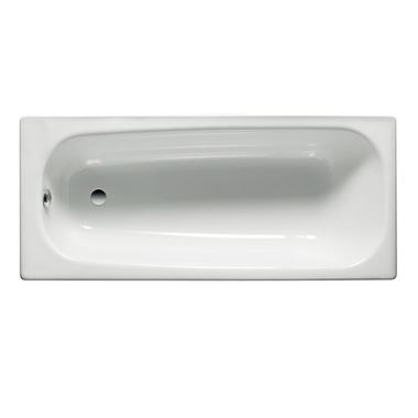 Roca Contesa Steel Bath 2 Tap Holes - 1500 x 700mm