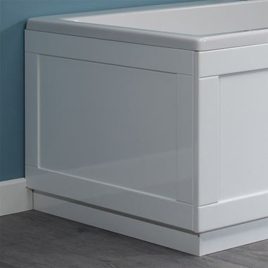 Roper Rhodes Hampton End Bath Panel - Chalk White