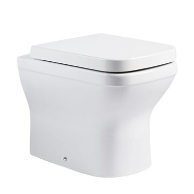 Roper Rhodes Cover Back to Wall WC & Seat - 530mm Projection
