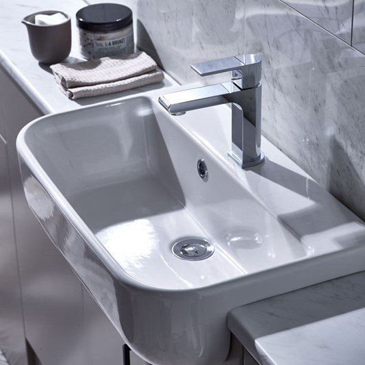 Roper Rhodes Cover Slim Semi-Countertop Basin