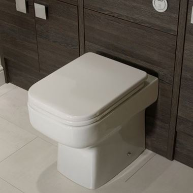 Roper Rhodes Geo Back to Wall Toilet & Soft Close Seat - 505mm Projection
